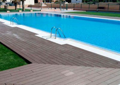 Acondicionamiento de una piscina comunitaria en San Juan