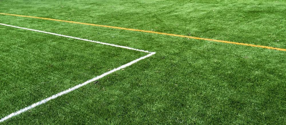 Césped artificial deportivo para campos de fútbol
