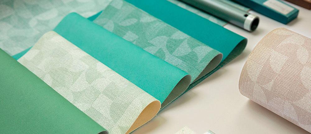 Tapicería inspirada en el tejido Jacquard