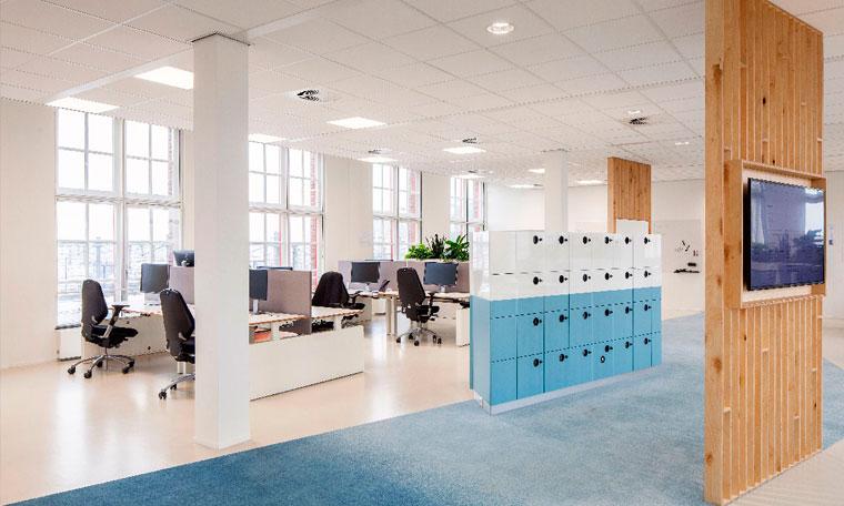 Pavimentos de caucho para oficinas