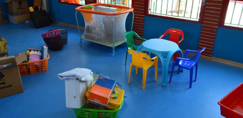 aulas infantiles de La Beneficiencia