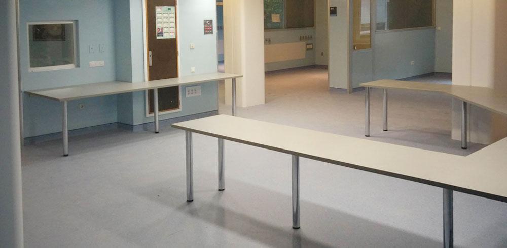 Salas Blancas del Hospital Clínico Universitario de Valencia