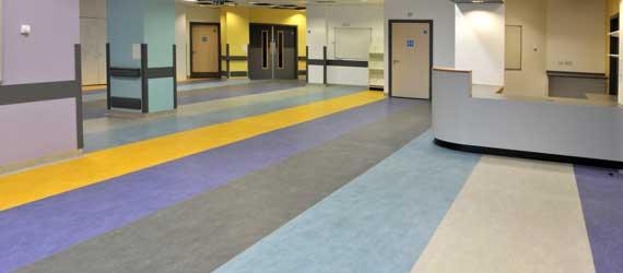Pavimentos ligeros sección sanidad