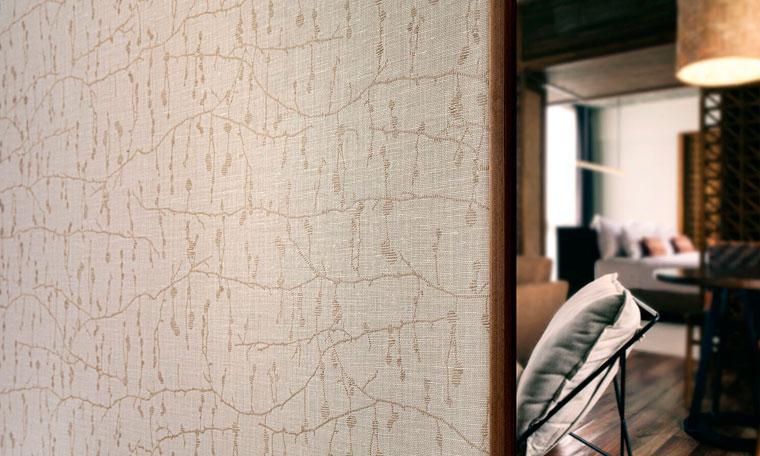 Revestimientos murales de lino