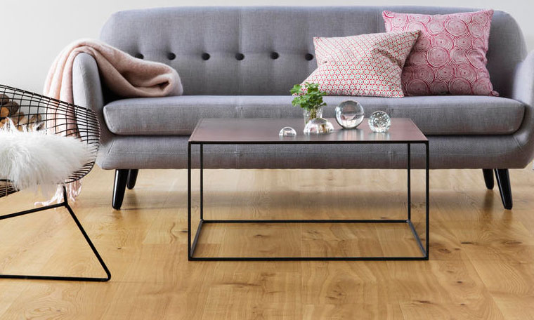 Parquet de madera sobre suelo radiante