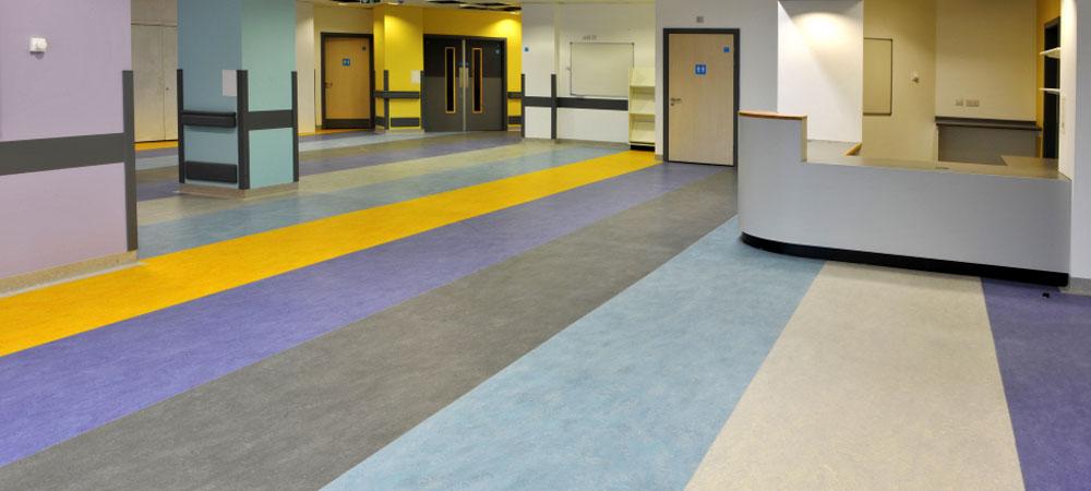Pavimentos ligeros específicos para el sector sanitario